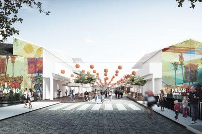 Pasar Hongkong: Food & Art District